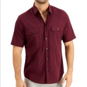 Alfani Men's Dual Pocket Shirt